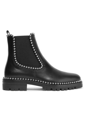 Alexander Wang - Spencer Studded Leather Chelsea Boots - Black