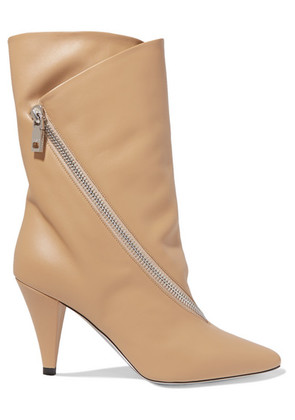 Givenchy - Leather Boots - Beige