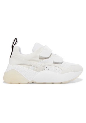 Stella McCartney - Eclypse Faux Leather, Suede And Neoprene Sneakers - White