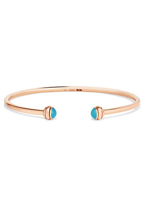 Piaget - Possession 18-karat Rose Gold Turquoise Cuff - S