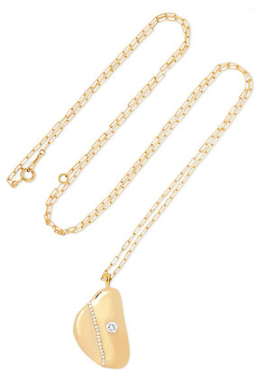 CVC Stones - W3 18-karat Gold Diamond Necklace - one size
