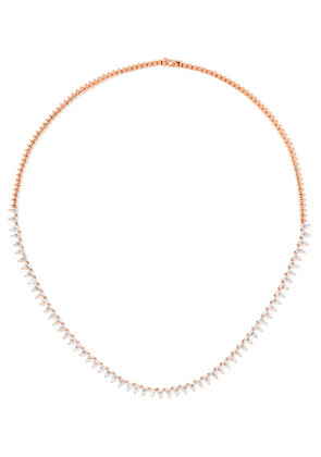 Anita Ko - 18-karat Rose Gold Diamond Necklace - one size