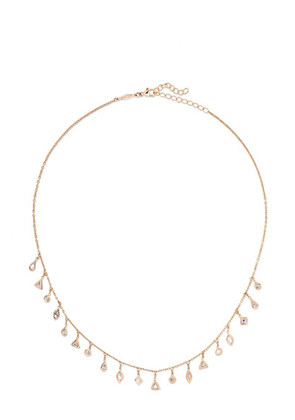 Jacquie Aiche - 14-karat Rose Gold Diamond Necklace - one size