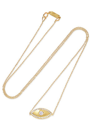 Jennifer Meyer - Evil Eye 18-karat Gold Diamond Necklace - one size