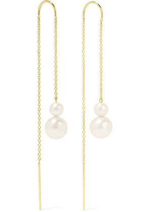 Ippolita - Nova 18-karat Gold Pearl Earrings - one size
