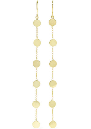 Jennifer Meyer - Circle 18-karat Gold Earrings - one size