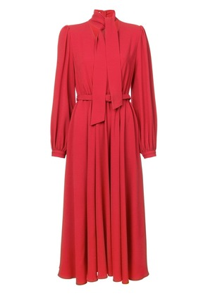 Co bow tie neck dress - Red