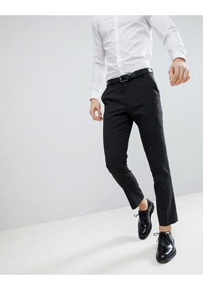 ASOS DESIGN slim suit trousers in charcoal - Charcoal