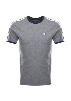 Pretty Green Tilby Crew Neck T Shirt Grey