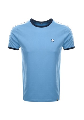 Pretty Green Tilby Crew Neck T Shirt Blue