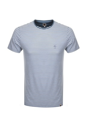Pretty Green Summerbee Feeder T Shirt Blue