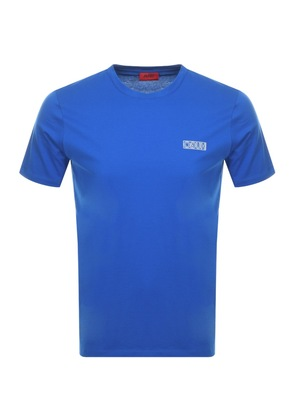 Hugo By HUGO BOSS Durned U3 T Shirt Blue