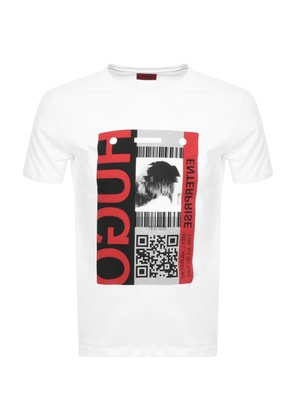 Hugo By HUGO BOSS Didentity T Shirt White