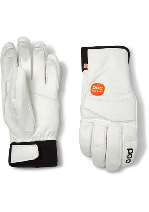 Palm Lite Leather-panelled Padded Gloves