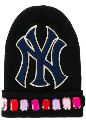 Gucci NY Yankees™ patch knitted beanie - Black