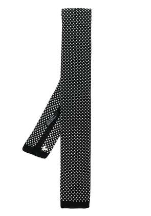 Fefè knitted tie - Black