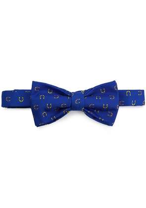 Fefè horse shoe bow tie - Blue