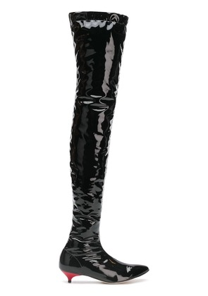 Gia Couture perfectly fitted boots - Black