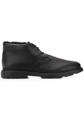 Hogan lace-up lined boots - Black