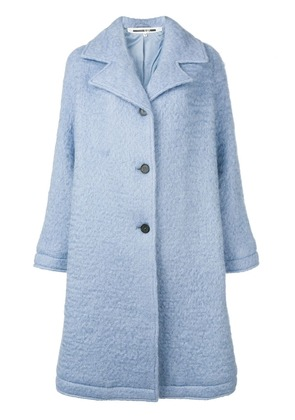 McQ Alexander McQueen perfectly fitted coat - Blue