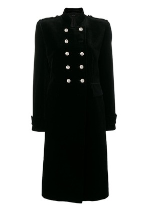 Tom Ford long military coat - Black