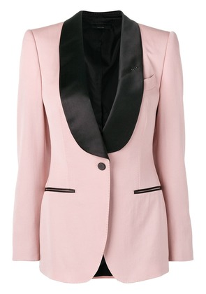 Tom Ford contrast formal blazer - Pink