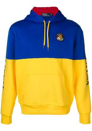 Polo Ralph Lauren colour block hoodie - Yellow