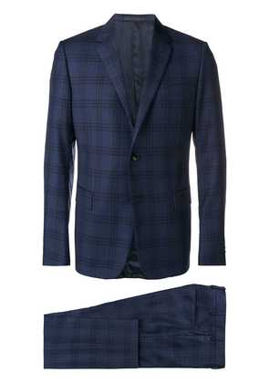 Valentino two piece check suit - Blue