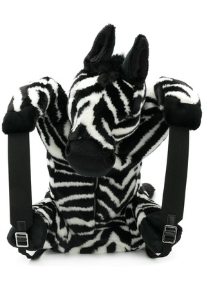 Dolce & Gabbana zebra backpack - Black