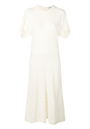 Jil Sander loose fitted day dress - White