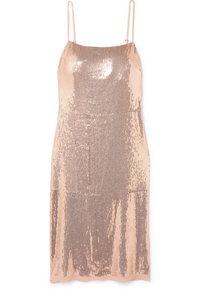 Jason Wu GREY - Sequined Stretch-jersey Dress - Pink