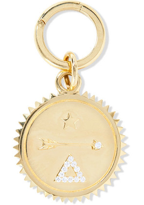 Foundrae - Dream 18-karat Gold Diamond Pendant - one size