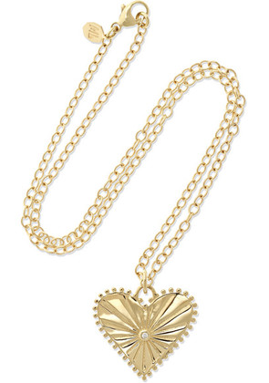Marlo Laz - Pour Toujours 14-karat Gold Diamond Necklace - one size