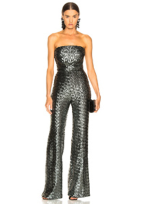 Alexis Carleen Jumpsuit in Metallic