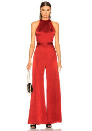 Alexis Sanaya Jumpsuit in Red