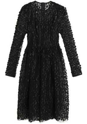 Dolce & Gabbana Woman Embellished Lace Dress Black Size 38