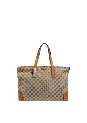 What Goes Around Comes Around Gucci Canvas GG Tote