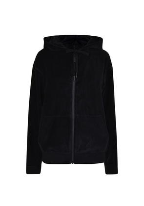Kendall and Kylie Velour Zipped Hooded Jacket