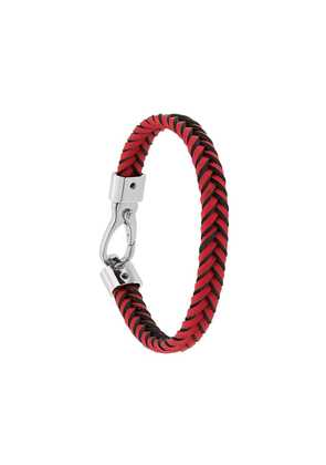 Tod's braided bracelet - Red