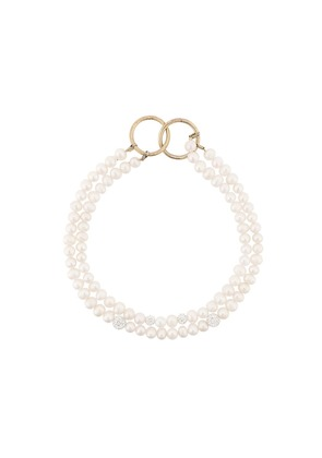 Magda Butrym Lily freshwater pearl necklace - White