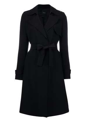 Theory belted waist coat - Black