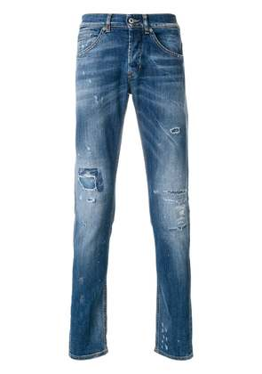 Dondup distressed effect jeans - Blue