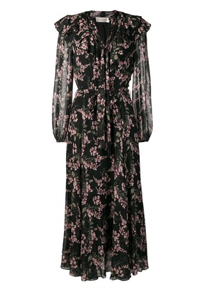 Zimmermann floral print shirt dress - Black