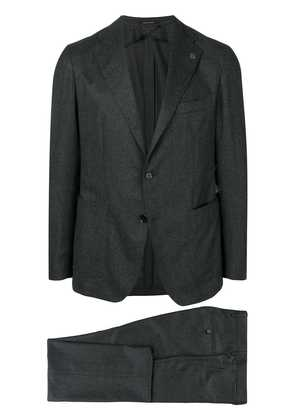 Tagliatore fitted formal suit - Grey
