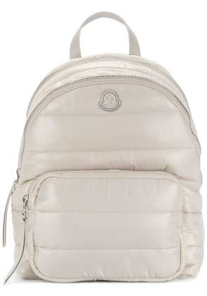 Moncler quilted backpack - Neutrals