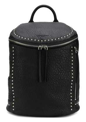 Lancaster studded zipped backpack - Black