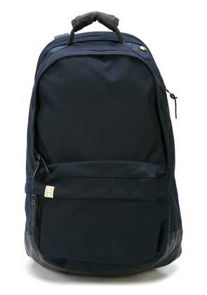 Visvim zipped backpack - Blue