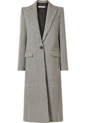 Givenchy - Houndstooth Wool Coat - Black