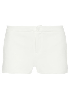 Gucci - Ribbed Knit-trimmed Tech-jersey Shorts - White