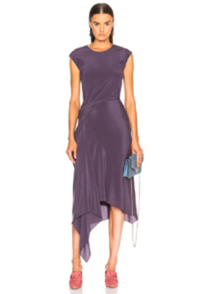 Sies Marjan Anita Asymmetrical Dress in Purple